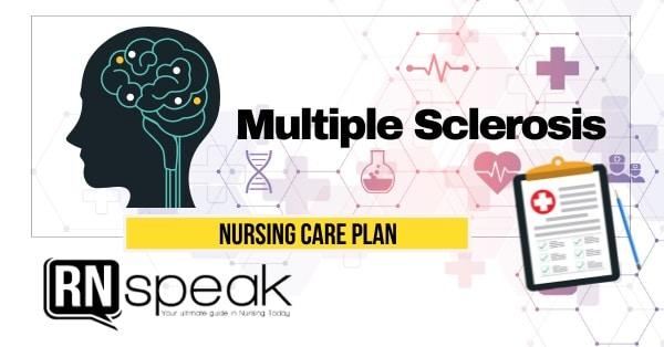 multiple sclerosis nursing care plan
