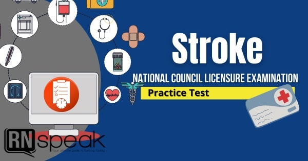 stroke nclex questions